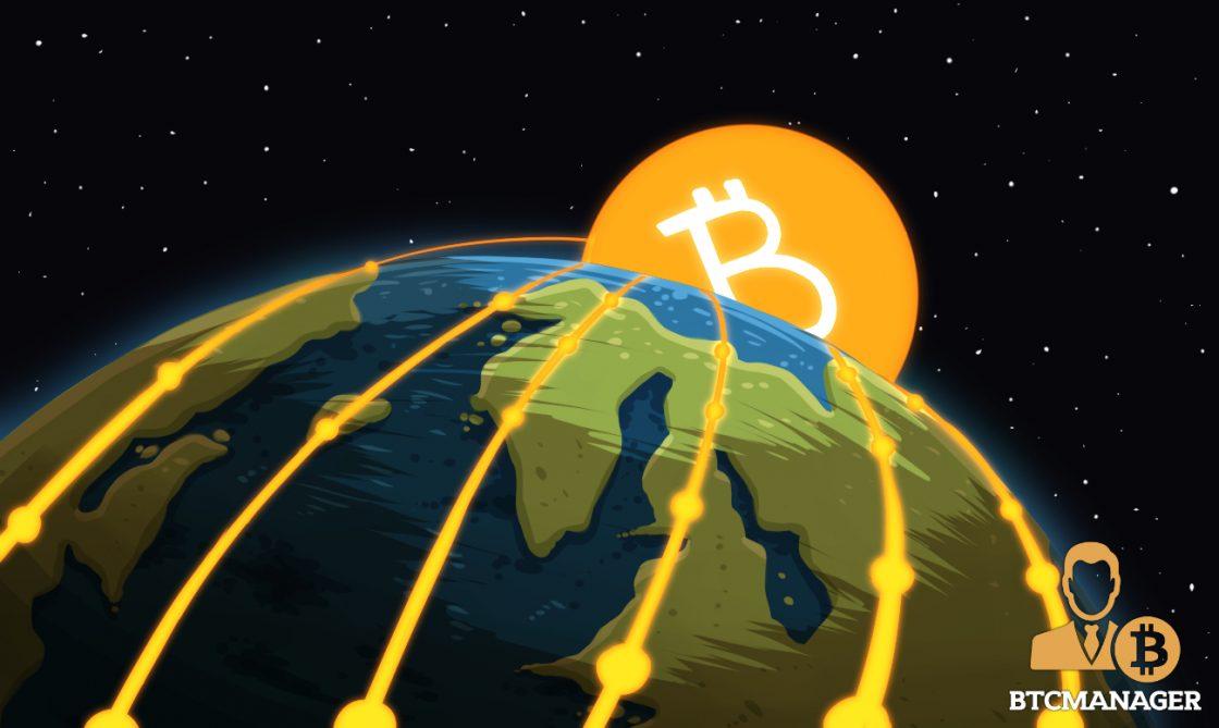 Bitcoin Encompassing the Globe