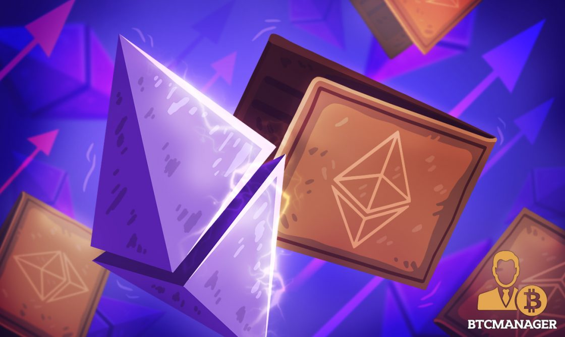 There are now 40 million #Ethereum addresses holding #ETH