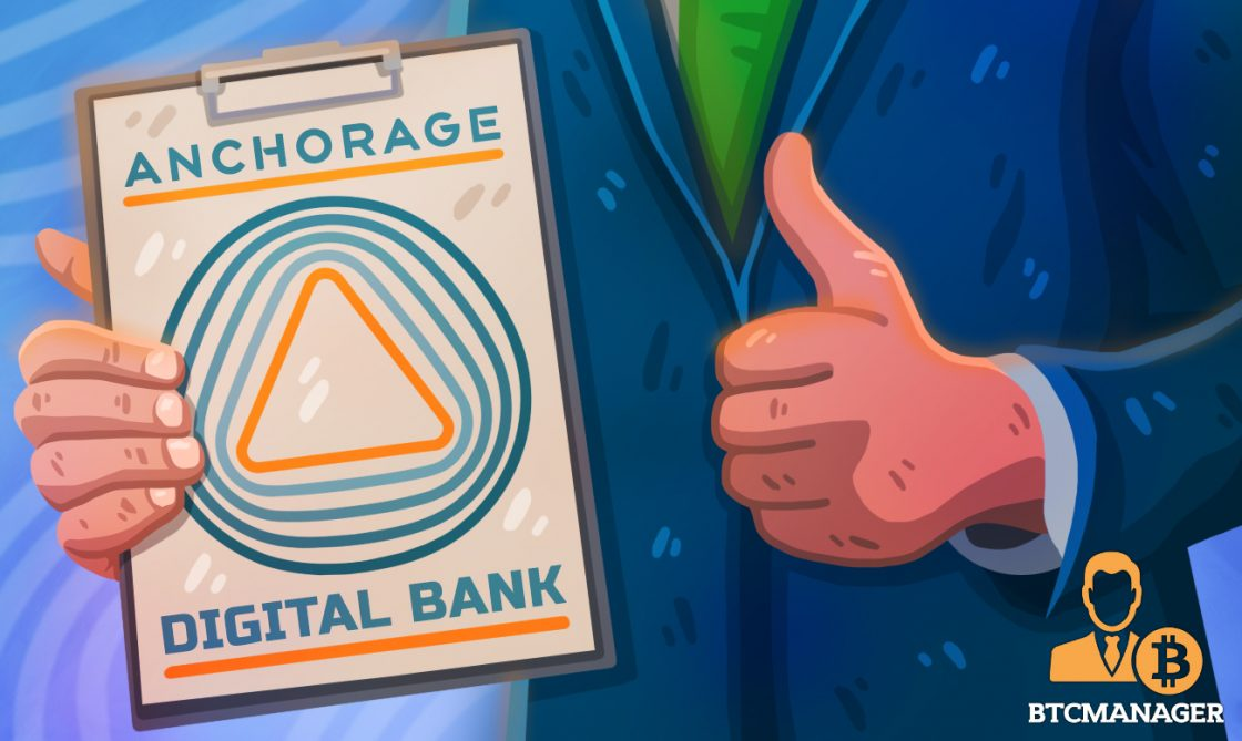 Cryptocurrency startup Anchorage granted provisional federal charter bank OK