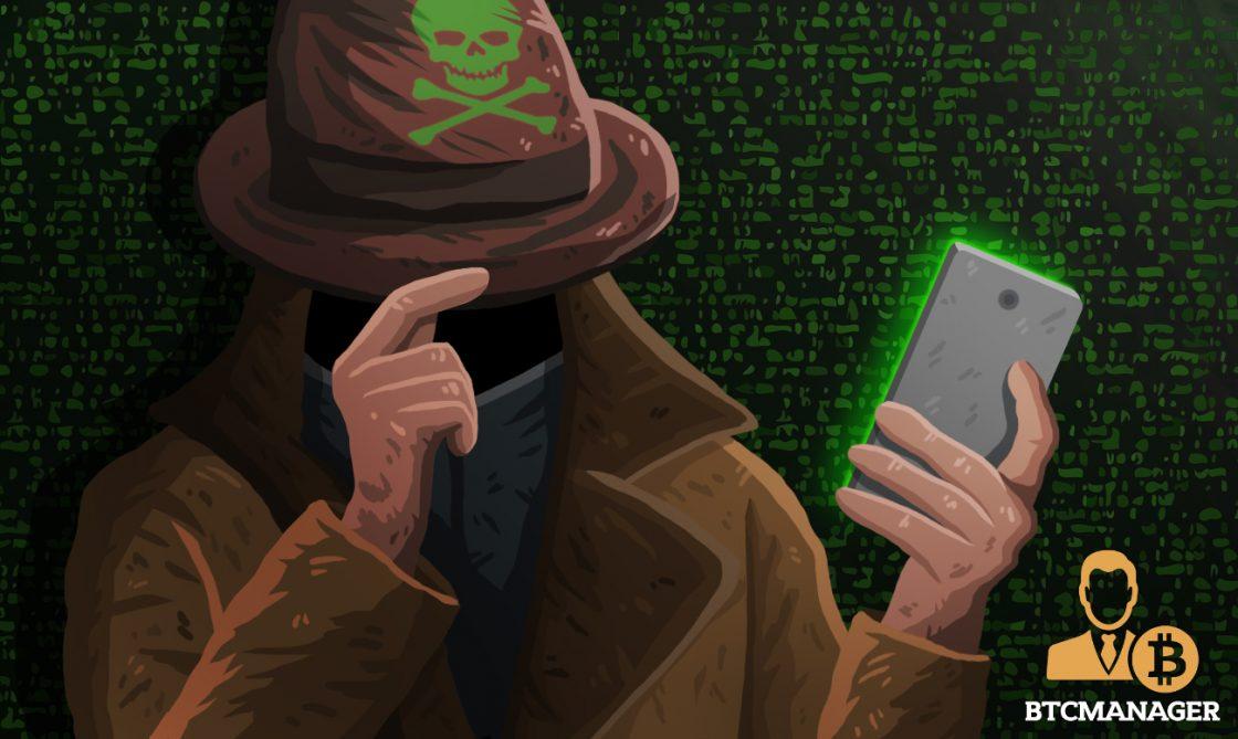 Hacker Green Hat Shady Guy Smartphone