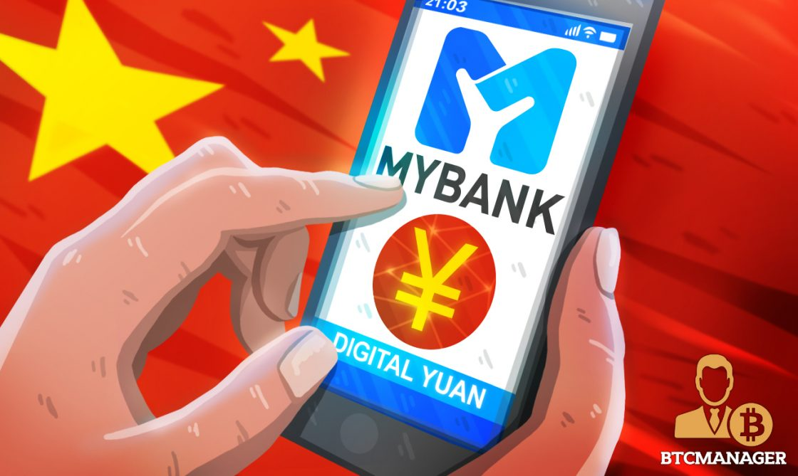 China Enlists Ant-backed MYbank in Expanding Digital Yuan Trial