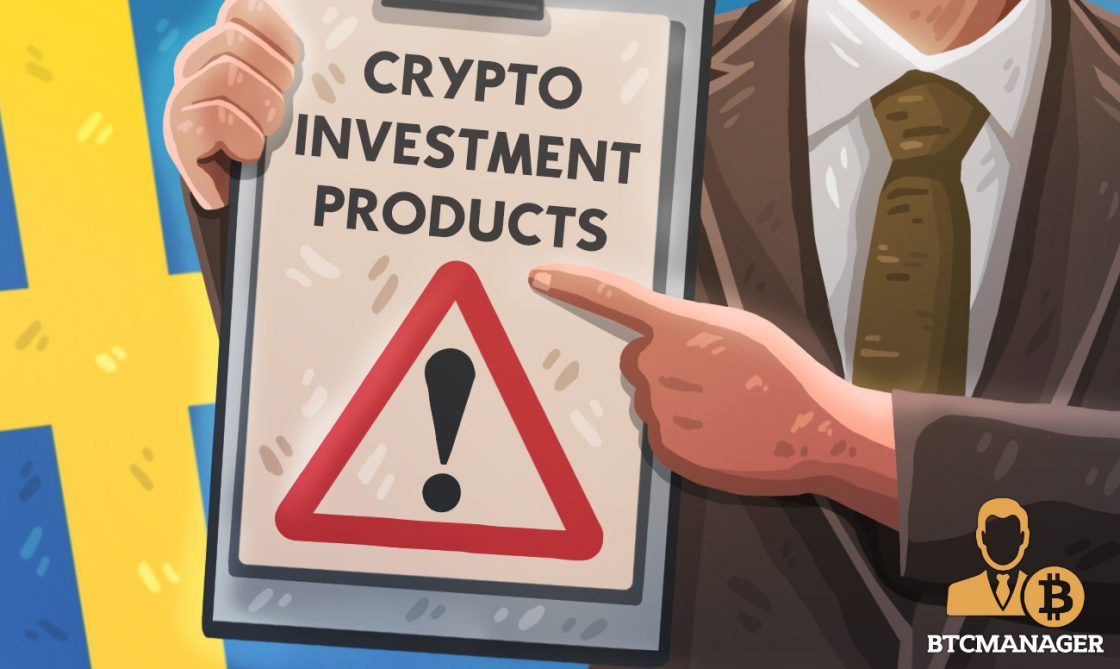Swedish Regulator Warns Consumers Over Crypto Investment Product Risks