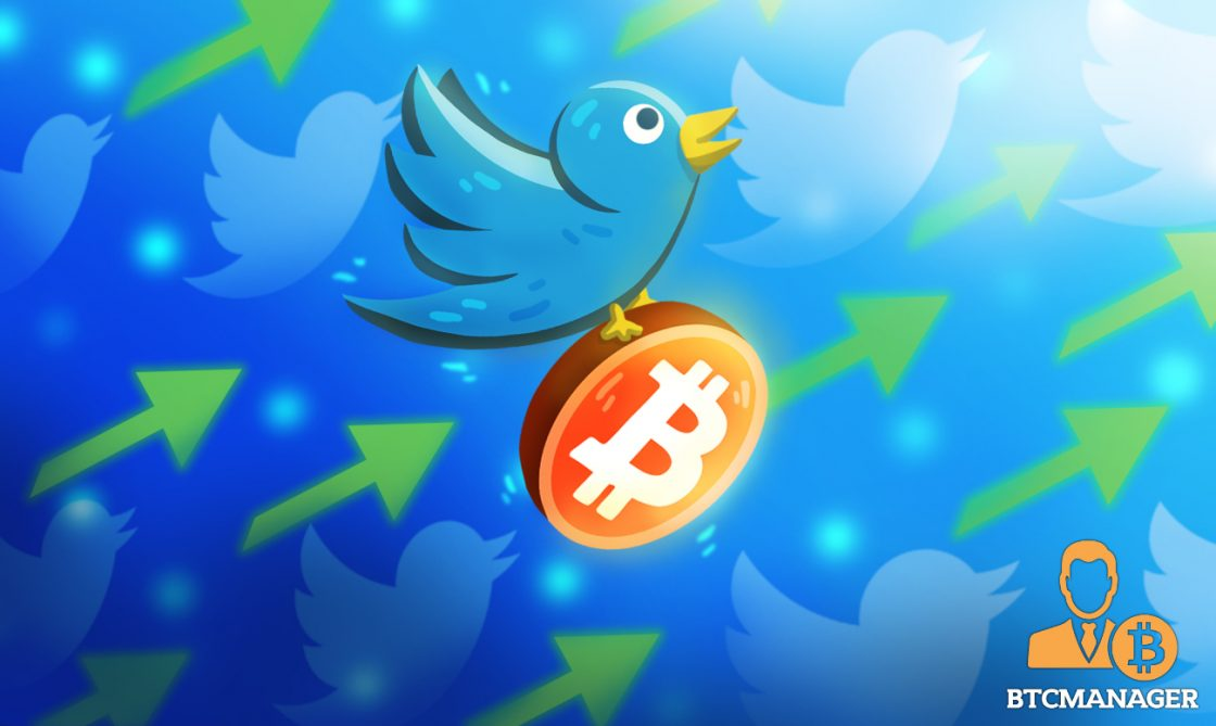 Bitcoin Tweet Volumes Spikes, Exchanges and On-Chain Data Analytics Platforms Gain More Followers