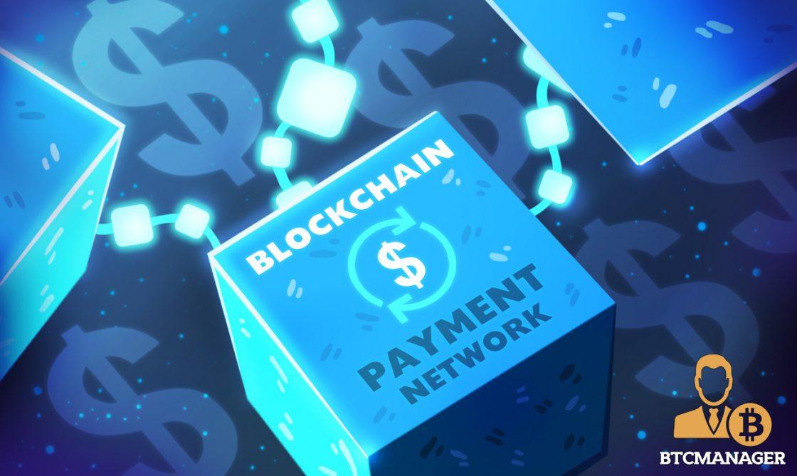 generic blockchain payments network illo