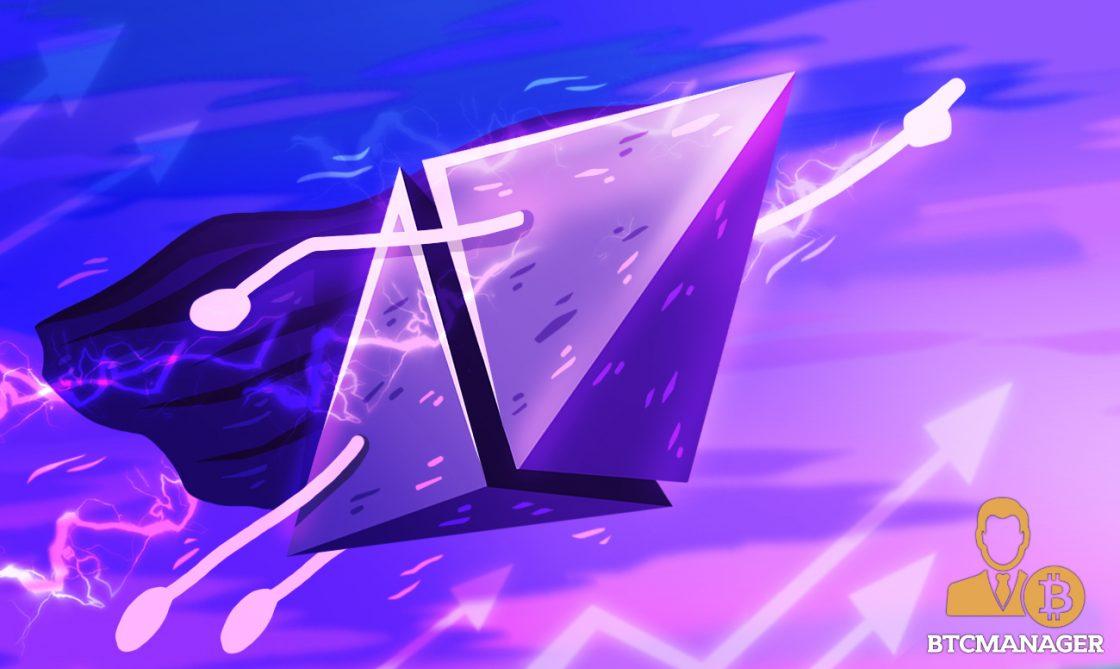 ethereum taking a majestic flight
